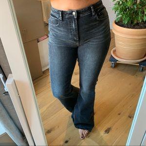 Bell Bottom Black Jeans